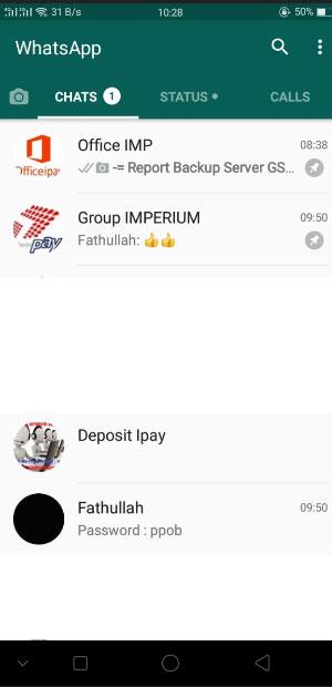 Deposit Via Whatsapp