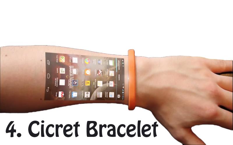 4. Cicret Bracelet